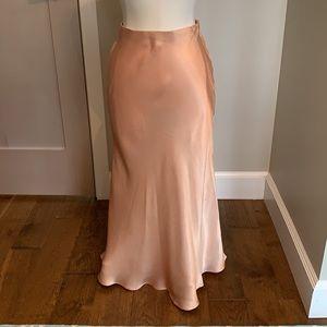 Hello Heart ankle length draped skirt